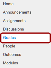 Option 1: Open Grades