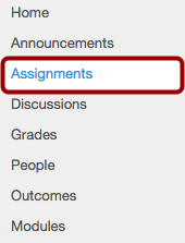 Option 2: Open Assignments