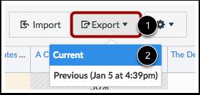 Export Scores