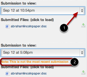 Evaluate Multiple Submissions