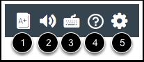 View SpeedGrader Menu Icons