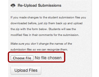 Choose ZIP File