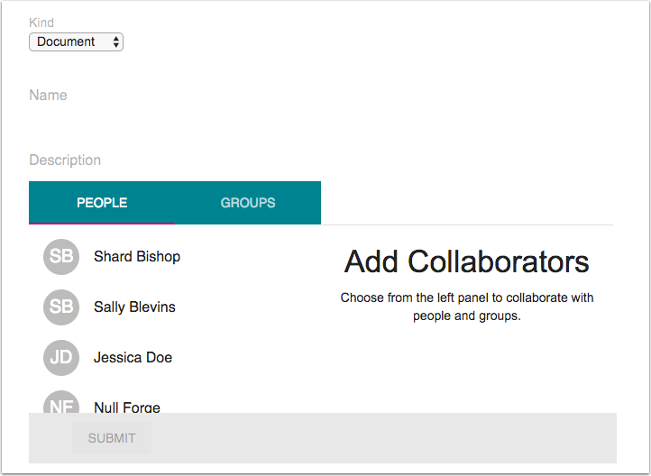 View Google Drive Collaborations