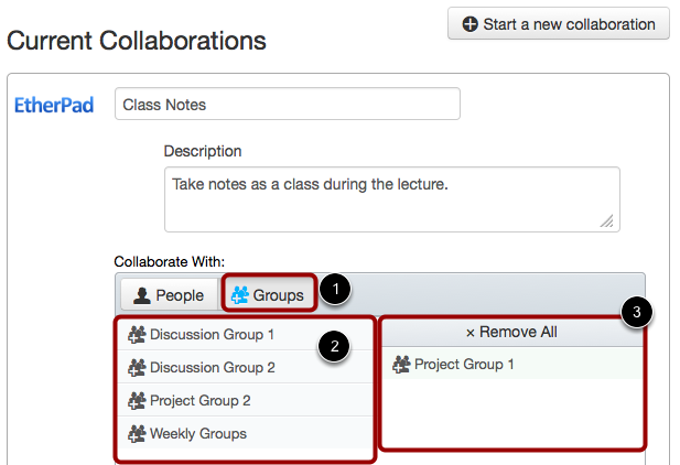Add Groups
