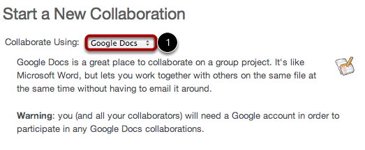 Use Google Docs