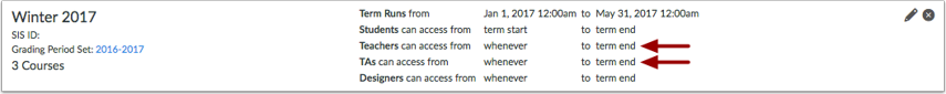 Custom User Dates