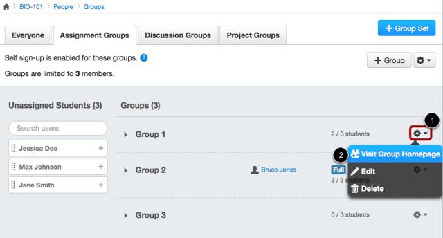 Visit Group Homepage