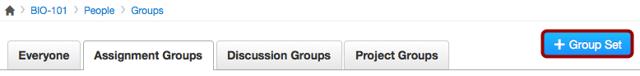 Add Group Set