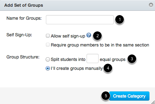 Create Group Set
