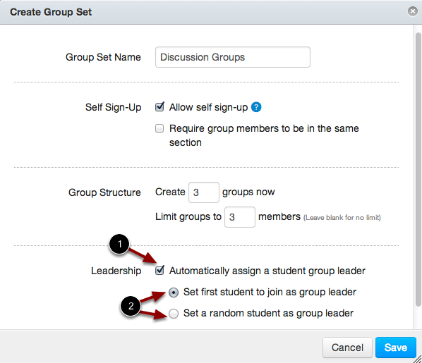 Set Leadership
