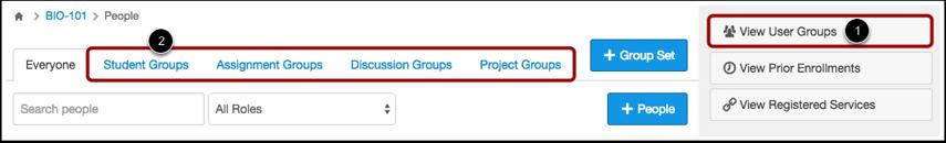 Open Group Set