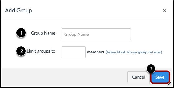 Create Group