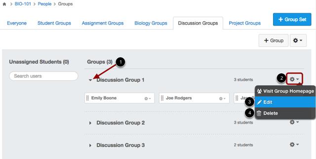 Modify Group