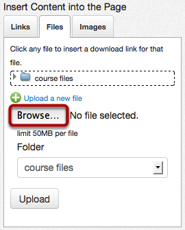 Browse for PDF File