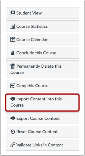 When Would I Use the Course Import Tool?