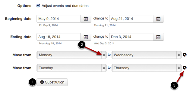 Create Date Substitutions