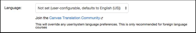 View Language
