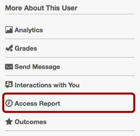 Open User Details