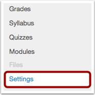 View Settings