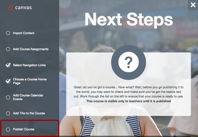 Open Publish Course Link