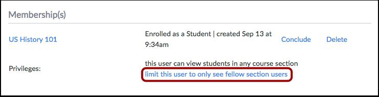 Limit User