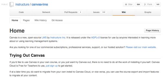 Canvas GitHub Repository