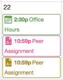 View Appointment via Calendar