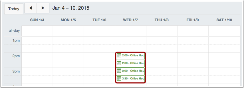 View Appointment in Calendar