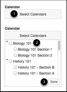 Select Calendars