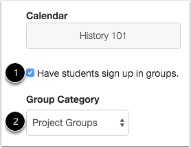 Allow Group Signup