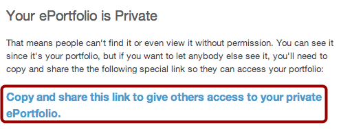 View Privacy Settings