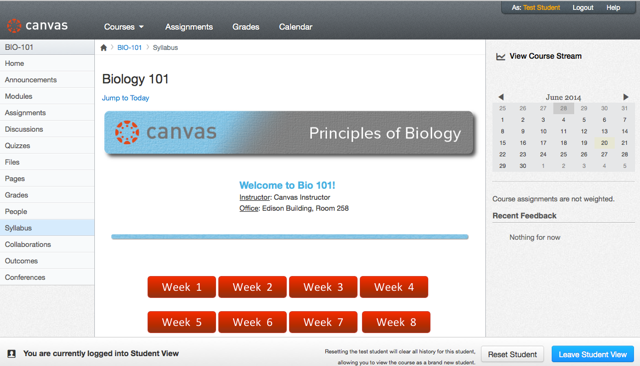 When would I use Student View?