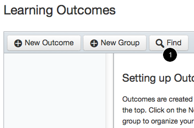 How do I add an Outcome to my Rubric for alignment purposes?