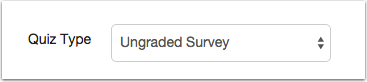 Create Survey