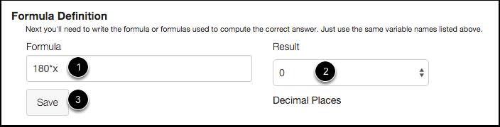 Set Formula Definitions