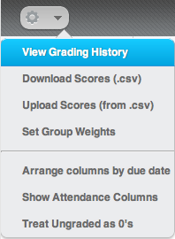 View Grades