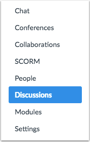 Open Discussions