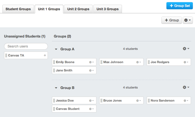 Verify Student Groups