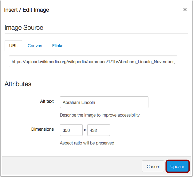 Update Reply