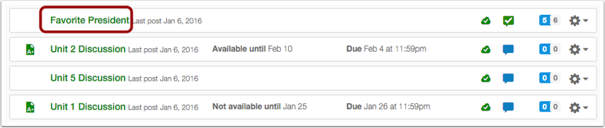 Open Discussion