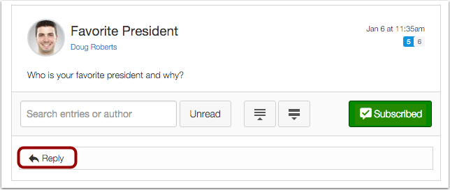 Write Reply