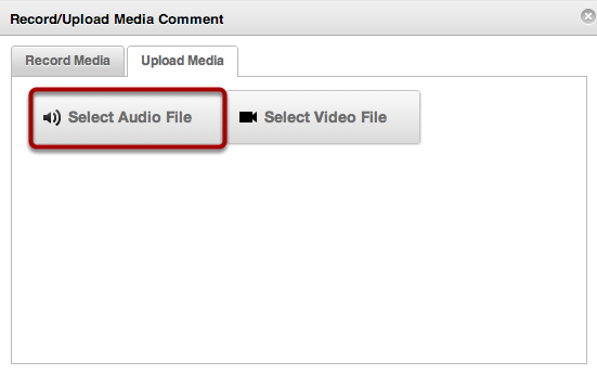 Select Audio File