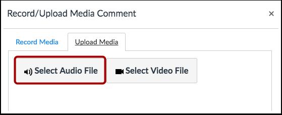 Select Audio File