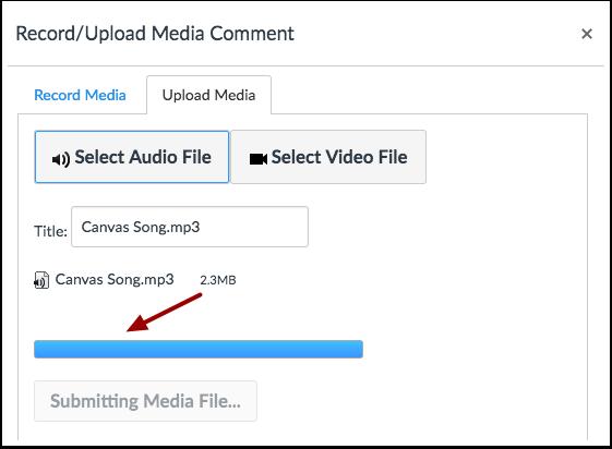 Upload Audio File