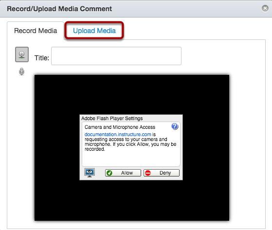 Upload Media
