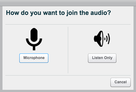 Join the Audio