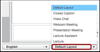 Select Layout
