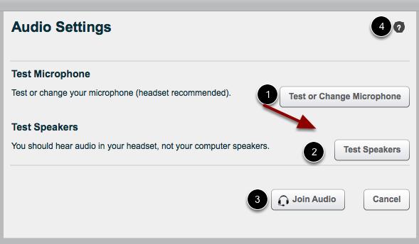 Confirm Audio