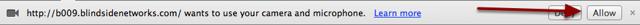Chrome Security Setting