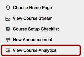 Option 1: Open Course Analytics